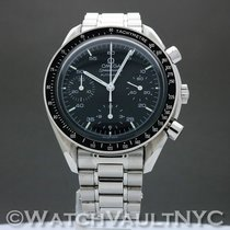 Omega Speedmaster Reduced Steel 39mm Black United States of America, New York, White Plains