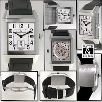 Jaeger-LeCoultre Reverso Squadra Hometime new 2009 Automatic Watch with original box and original papers 230.8.77