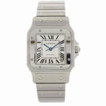 Cartier Santos Galbée new 2007 Automatic Watch with original box 2823