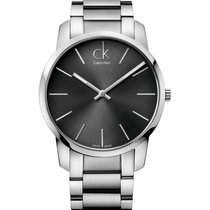 ck Calvin Klein new Quartz 43mm Steel Mineral Glass