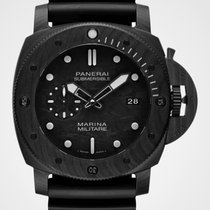 Panerai Carbon Automatic Black 47mm new Luminor Submersible