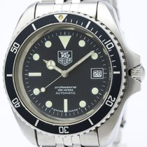 TAG Heuer Diver Professional 200m Steel Automatic Mens Watch...