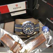 Τούντορ (Tudor) Heritage Black Bay Bronze Bucherer Blu