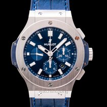 Hublot Big Bang 44 mm Steel 44mm Blue United States of America, California, San Mateo