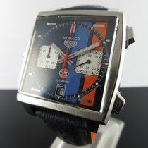 TAG Heuer Monaco Steel 39mm Blue No numerals