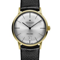 Hamilton Intra-Matic new 2019 Automatic Watch with original box and original papers H38475751