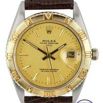 Rolex Datejust Turn-O-Graph Золото/Cталь 36mm Золотой