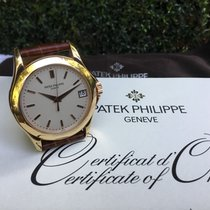 Patek Philippe Calatrava pre-owned 37mm Rose gold