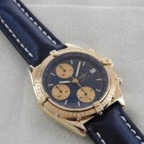 Breitling Chronomat (Submodel) gebraucht 39mm Gelbgold