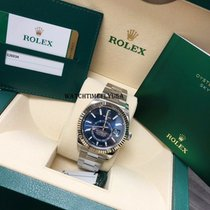 Rolex Oyster Perpetual Steel 42mm Blue No numerals United States of America, New York, NEW YORK