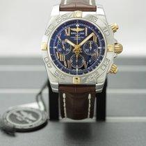 Breitling Chronomat 44 Gold/Steel 44mm Black Roman numerals United States of America, New York, Buffalo