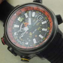 Citizen Chronograph 48mm Quarz 2014 gebraucht Schwarz