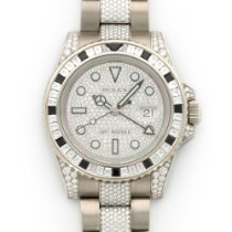 Rolex 116759SANR Ouro branco GMT-Master II