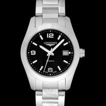 Longines Conquest Classic Steel 29.5mm Black United States of America, California, San Mateo
