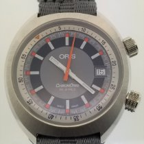 Oris Chronoris Steel 39mm Grey No numerals United States of America, Alabama, Oranjestad