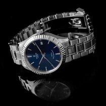 Tudor Style Acier 34mm Bleu