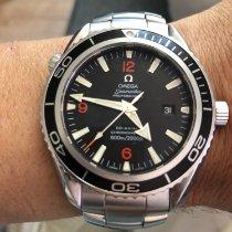 Omega Seamaster Planet Ocean Acier 45.5mm Noir Arabes France, Lille