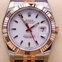 Rolex Datejust Turn-O-Graph Gold/Stahl 36mm Weiß Keine Ziffern Deutschland, Duisburg