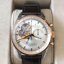 Zenith El Primero Chronomaster Gold/Steel 42mm Silver No numerals Australia, Victoria
