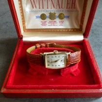 Wittnauer Or jaune 38mm Remontage manuel occasion