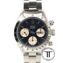 Rolex Daytona Steel 37mm Black No numerals United States of America, New York, New York