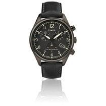 Timex Steel Quartz Black 42mm new