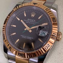 Rolex Datejust Turn-O-Graph Gold/Steel 36mm Grey No numerals Singapore, Singapore