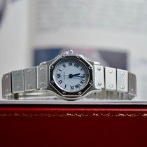 Cartier Santos (submodel) Acciaio 24mm Bianco Romano Italia, CASTELD'ARIO(MN)