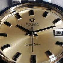 Omega Genève Steel 38mm Champagne No numerals