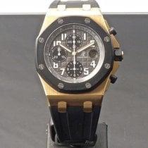 Audemars Piguet Royal Oak Offshore Chronograph usados 42mm Negro Cronógrafo Fecha Caucho