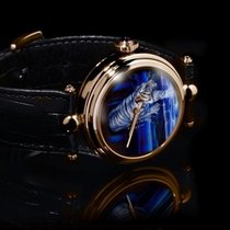 Angular Momentum Tiger in Blue Moon 38mm