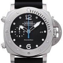 Panerai Luminor Submersible 1950 3 Days Automatic Titanium 47mm Black