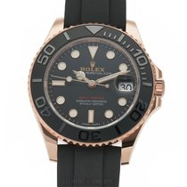 Rolex Yacht-Master 37 Rose gold 37mm Black United States of America, New York, New York