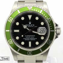 Rolex Submariner Green bezel 'Anniversary' - 16610LV MINT