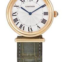 Cartier   A Yellow Gold Wristwatch