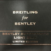 Breitling Bentley Supersports - Light Body Limited Edition