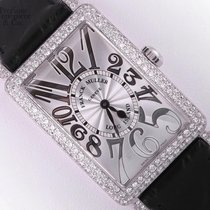 Franck Muller Long Island 952 QZ D-Factory Diamond 18k White...