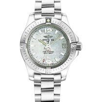 Breitling a7738811/a770-ss Colt 33mm in Steel - on Steel...