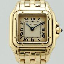 Cartier Panthere Quartz 18K Gold Lady