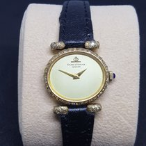 보메  메르시에 (Baume & Mercier) 18K Gold Diamond Ladies Watch