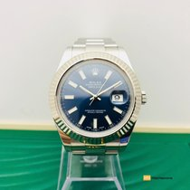 Rolex Datejust II, Bisel Oro Blanco, 41mm