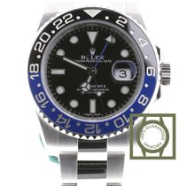 Rolex GMT Master II blue black Batman NEW