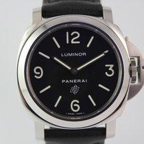 Panerai Luminor Base Logo PAM000 #A3459 Box, Papiere
