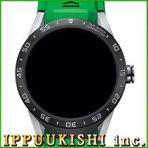 タグ ホイヤー・新品/未使用・時計 (説明書付き、化粧箱入り)・46 x 49 mm・チタン