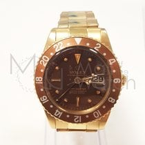 "Rolex Gmt Master ""no Crown Guards"" 1675/8 Gold"