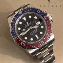Rolex GMT-Master II in White Gold with Black Dial