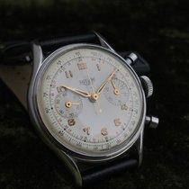 Heuer chronograaf vintage Valjoux 92 vintage