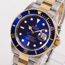 Rolex Submariner Date gebraucht 40mm Gold/Stahl