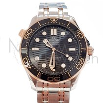 Omega 210.20.42.20.01.001 Gold/Steel Seamaster Diver 300 M 42mm new