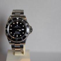 Rolex Sea-Dweller 4000 Staal 40mm Zwart Geen cijfers Nederland, Groningen